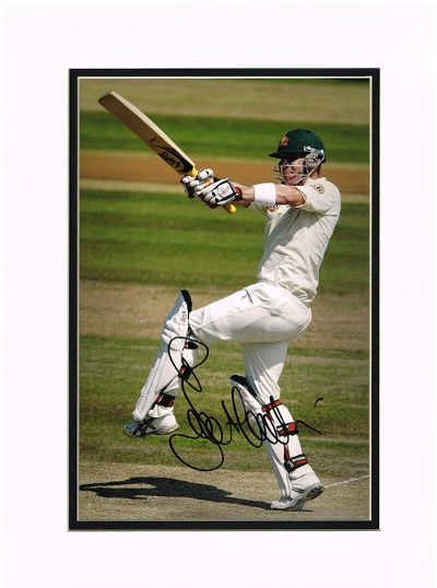 Brad Haddin Autograph Signed Photo - Australia